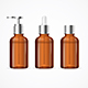 Realistic Detailed Blank Medicine Cosmetic Bottles - GraphicRiver Item for Sale