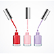 Realistic Detailed Color Nail Polish Set - GraphicRiver Item for Sale