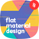 Flat Material Design Backgrounds - GraphicRiver Item for Sale
