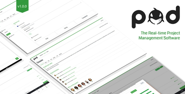 Pod : Real-time Project Management Software            Nulled