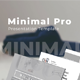 Minimal Pro Powerpoint - GraphicRiver Item for Sale
