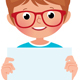 Vector Illustration of a Boy in Full Length - GraphicRiver Item for Sale