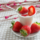 yogurt with strawberries - PhotoDune Item for Sale