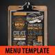 Sandwich Food Menu - GraphicRiver Item for Sale