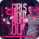 Girls Night Out Party Flyer - GraphicRiver Item for Sale