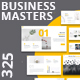 Business Masters - Multipurpose Google Slides Presentation - GraphicRiver Item for Sale