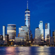 Manhattan skyline at blue hour, New York City. - PhotoDune Item for Sale