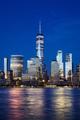 Manhattan skyline at blue hour, New York City. - PhotoDune Item for Sale