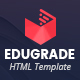 Edugrade - Education HTML Template - ThemeForest Item for Sale