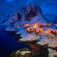 Hamnoy fishing village on Lofoten Islands, Norway - PhotoDune Item for Sale