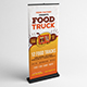 Food Fest | Food Truck Roll-Up Template - GraphicRiver Item for Sale