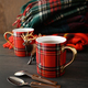 Mugs with hot tea on wood table - PhotoDune Item for Sale