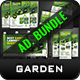 Garden Landscape Advertising Bundle Vol.3 - GraphicRiver Item for Sale