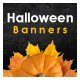 Halloween Sale Web Banner Set - GraphicRiver Item for Sale