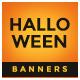 Halloween Sale Web Banner Set - GraphicRiver Item for Sale