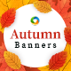 Autumn Sale Web Banner Set - GraphicRiver Item for Sale