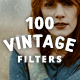 100 Vintage Old Photo Filter Template - GraphicRiver Item for Sale