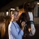 Female vet stroking horse at stable - PhotoDune Item for Sale