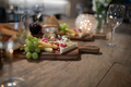 Close-up of various food on wooden board - PhotoDune Item for Sale