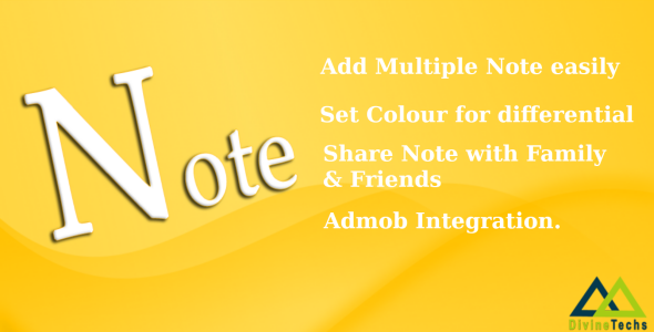 Simple Note - Android Native App - CodeCanyon Item for Sale