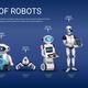 Robots Evolution Horizontal Timeline - GraphicRiver Item for Sale