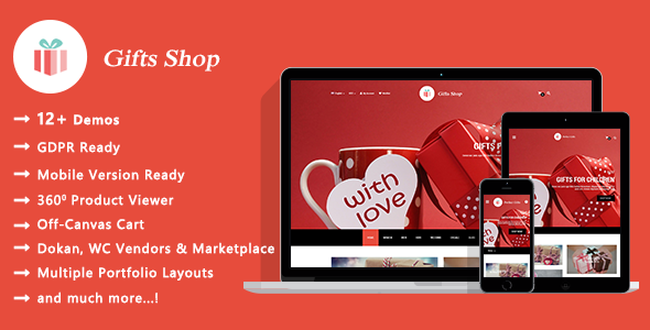 Gifts Shop - Gift and Souvenir WooCommerce WordPress Theme - WooCommerce eCommerce