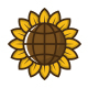 Sunflower World Logo Template - GraphicRiver Item for Sale