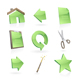 Green icons set  - GraphicRiver Item for Sale