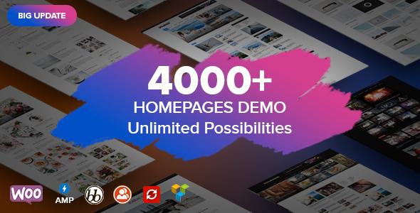 Soledad - Multi-Concept Blog/Magazine/News AMP WordPress Theme - Personal Blog / Magazine