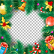 Christmas and New Year Frame - GraphicRiver Item for Sale