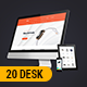 Responsive Mockup Designer Desk - GraphicRiver Item for Sale