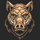 Head of Ferocious Boar - GraphicRiver Item for Sale