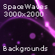 Space Waves Backgrounds - GraphicRiver Item for Sale