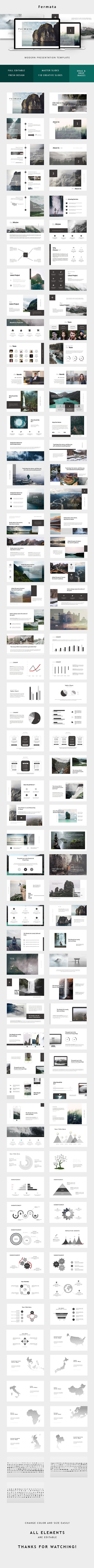 Creative Minimal Powerpoint - PowerPoint Templates Presentation Templates