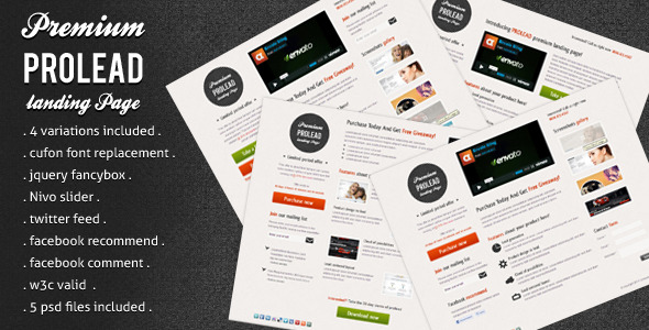 Free Download Prolead Landing Page Nulled Latest Version