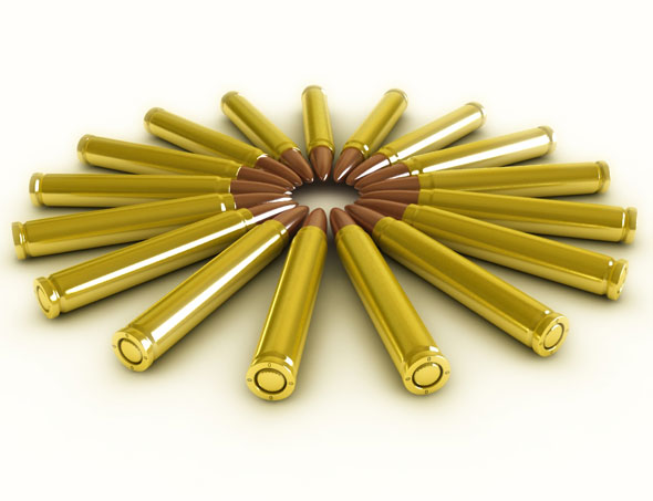 High Quality Bullets / MAX - 3DOcean Item for Sale