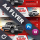 Commercial Vehicle Flyer Templates - GraphicRiver Item for Sale