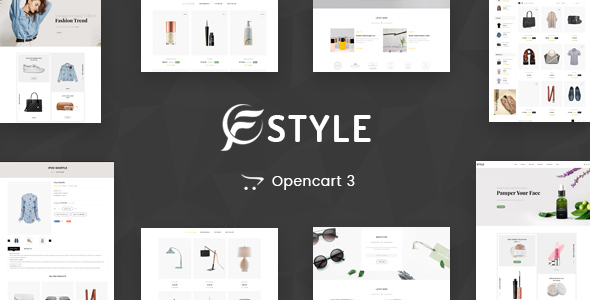 F-Sytle Multipurpose OpenCart 3 Theme - Fashion OpenCart