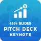 2 in 1 Clean Pitch Deck Keynote Template - GraphicRiver Item for Sale