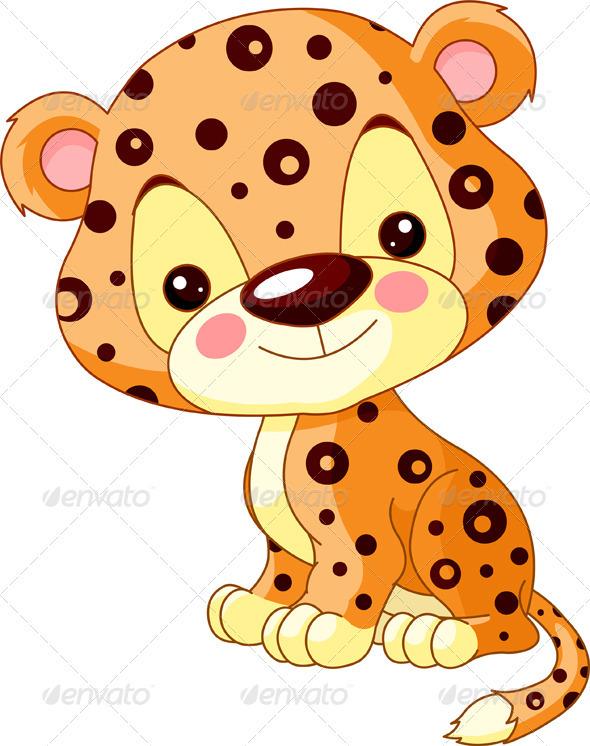 Fun zoo. Jaguar - Animals Characters