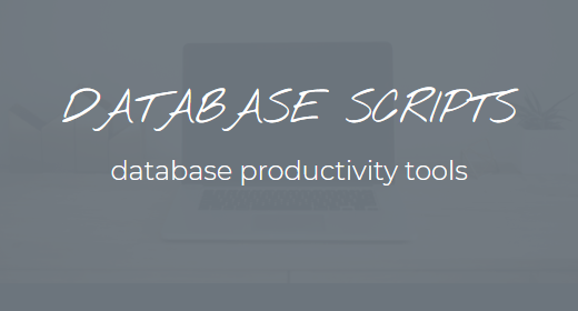 Database Scripts