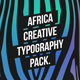 Africa - Creative Typography Pack - VideoHive Item for Sale