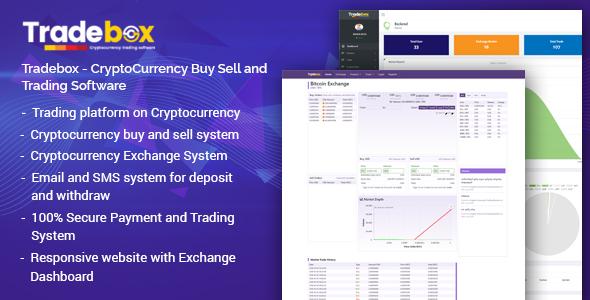 Tradebox - CryptoCurrency Buy Sell and Trading Software            Nulled