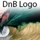 Glitched DnB Logo