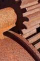 Old rusted cogwheels - PhotoDune Item for Sale