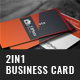 Photographer Business Card Bundle - 2in1 - GraphicRiver Item for Sale