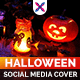 Halloween Sale Social Media Cover Set - GraphicRiver Item for Sale
