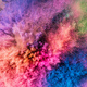 Holi powder bursting up, creating exploding texture. - PhotoDune Item for Sale