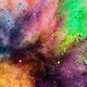 Colorful holi powder explosion. - PhotoDune Item for Sale