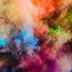 Colorful powder splashing in the air. - PhotoDune Item for Sale